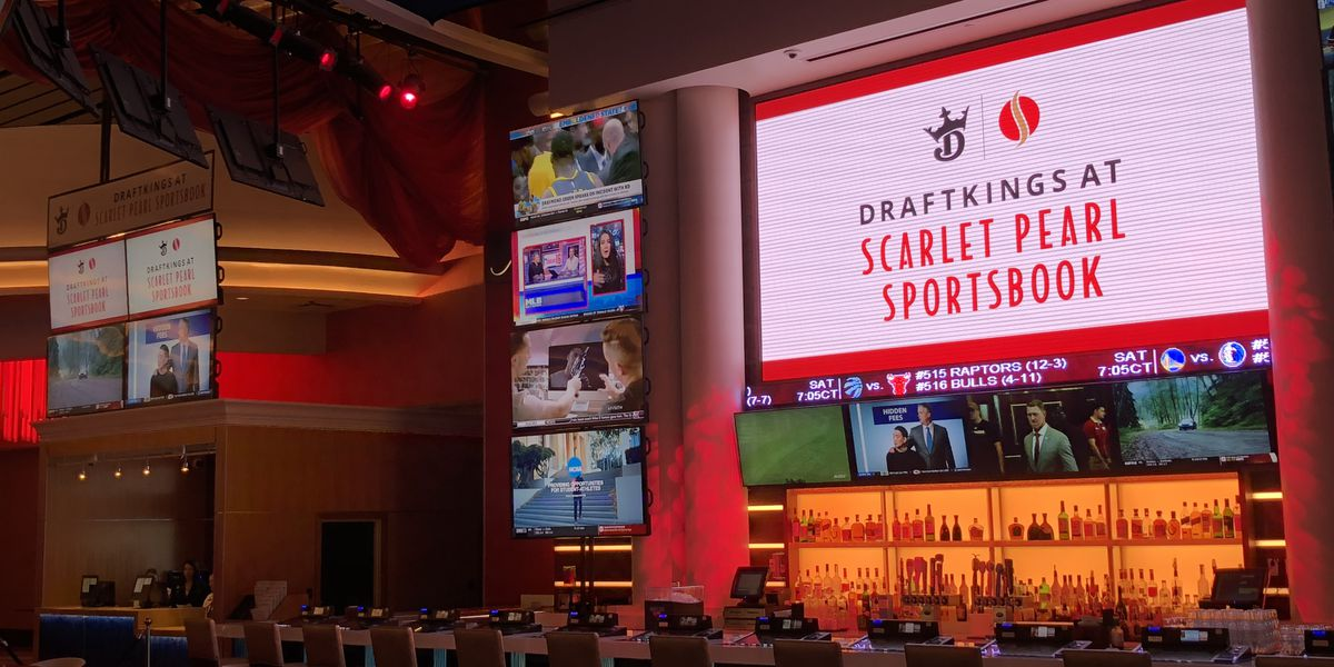 Sports book opens at Scarlet Pearl