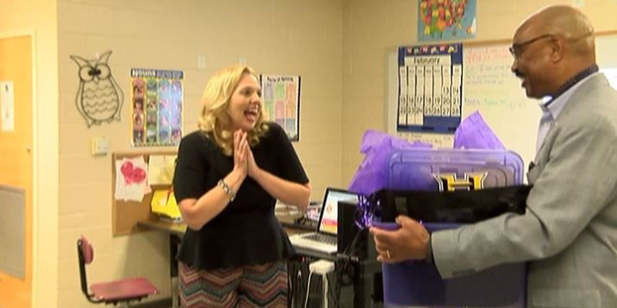 Lori Potter named teacher of the year