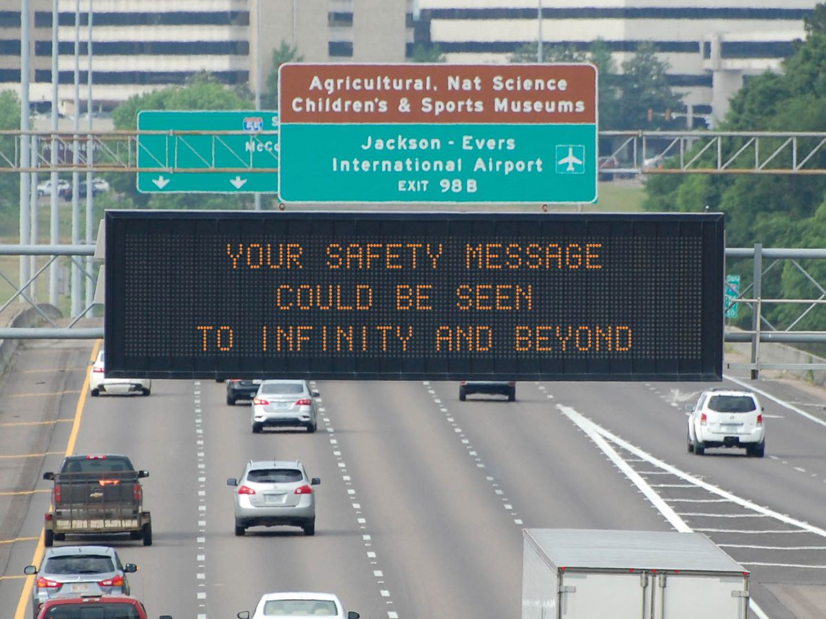 MDOT hosts contest to put witty one-liners on traffic signs across the state