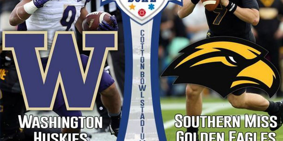 FINAL: Huskies defeats Southern Miss 44-31 in Zaxby Bowl