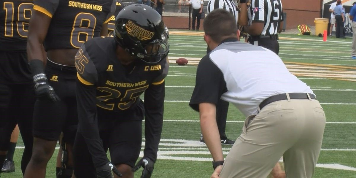 USM's Smith running with the best
