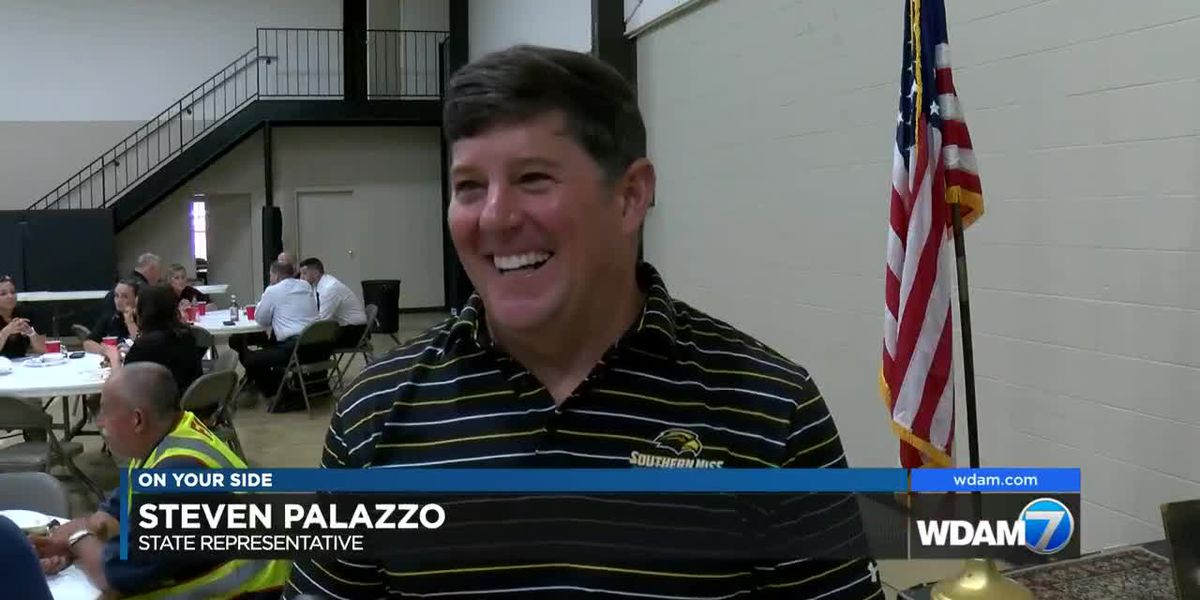 Rep. Palazzo discusses gun legislation survey