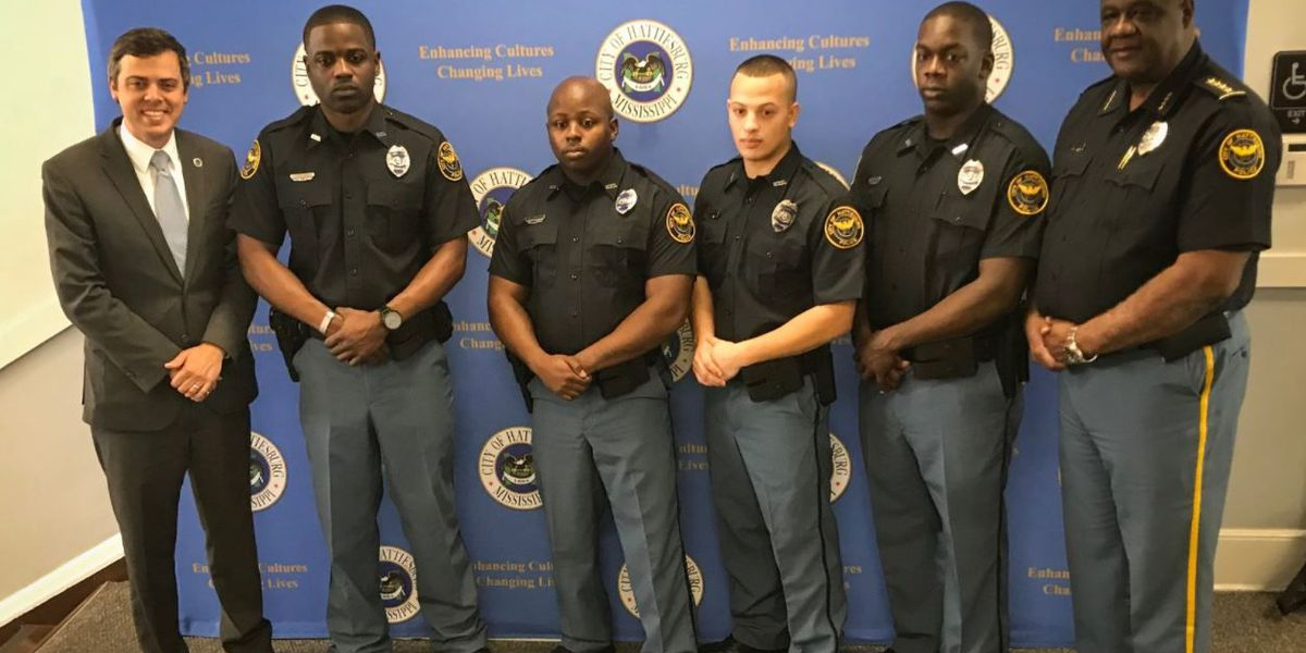 New officers bring HPD closer to staffing goal