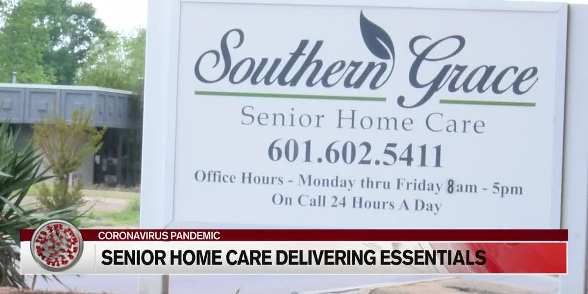 Senior care service providing essential need home delivery