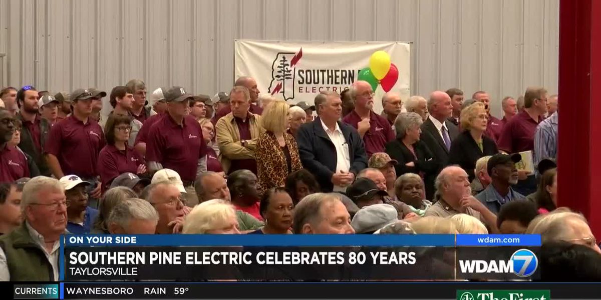 Southern Pine Electric celebrates 80 years of service