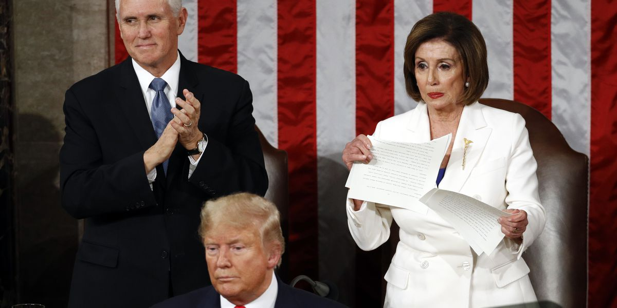 La. Rep. Steve Scalise supports repercussions for Nancy Pelosi's speech ripping