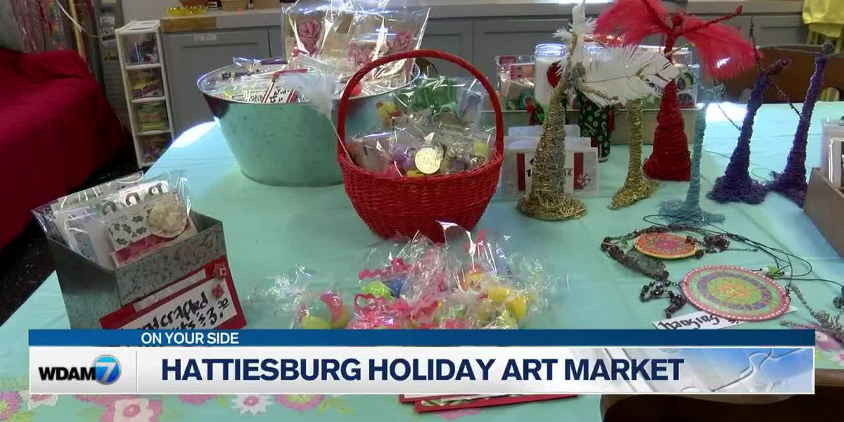 Hattiesburg Arts Council to host holiday art market Saturday