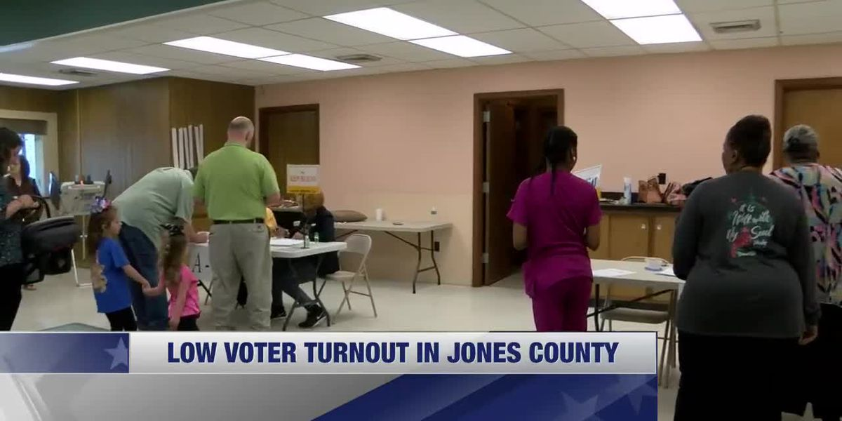 Low turnouts for primary elections Tuesday, hopes for more voters come November