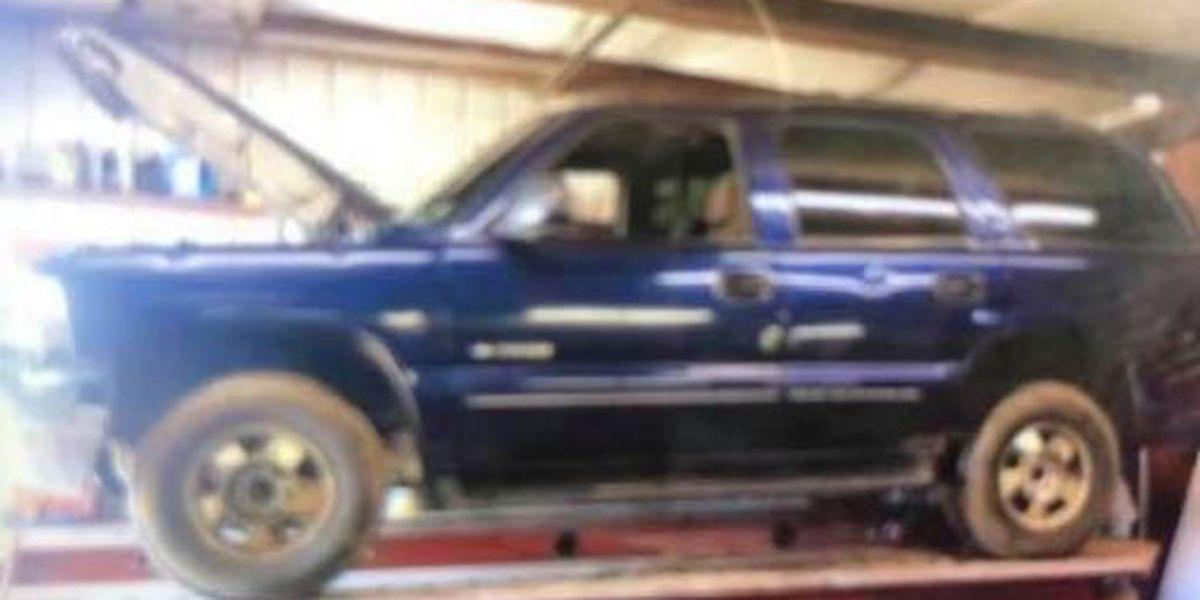 Petal police investigating stolen SUV