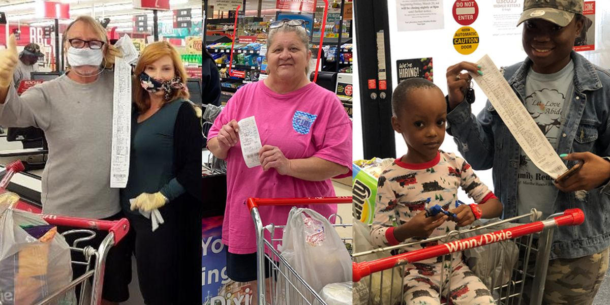 Tyler Perry surprises shoppers by paying for groceries at Winn Dixie stores