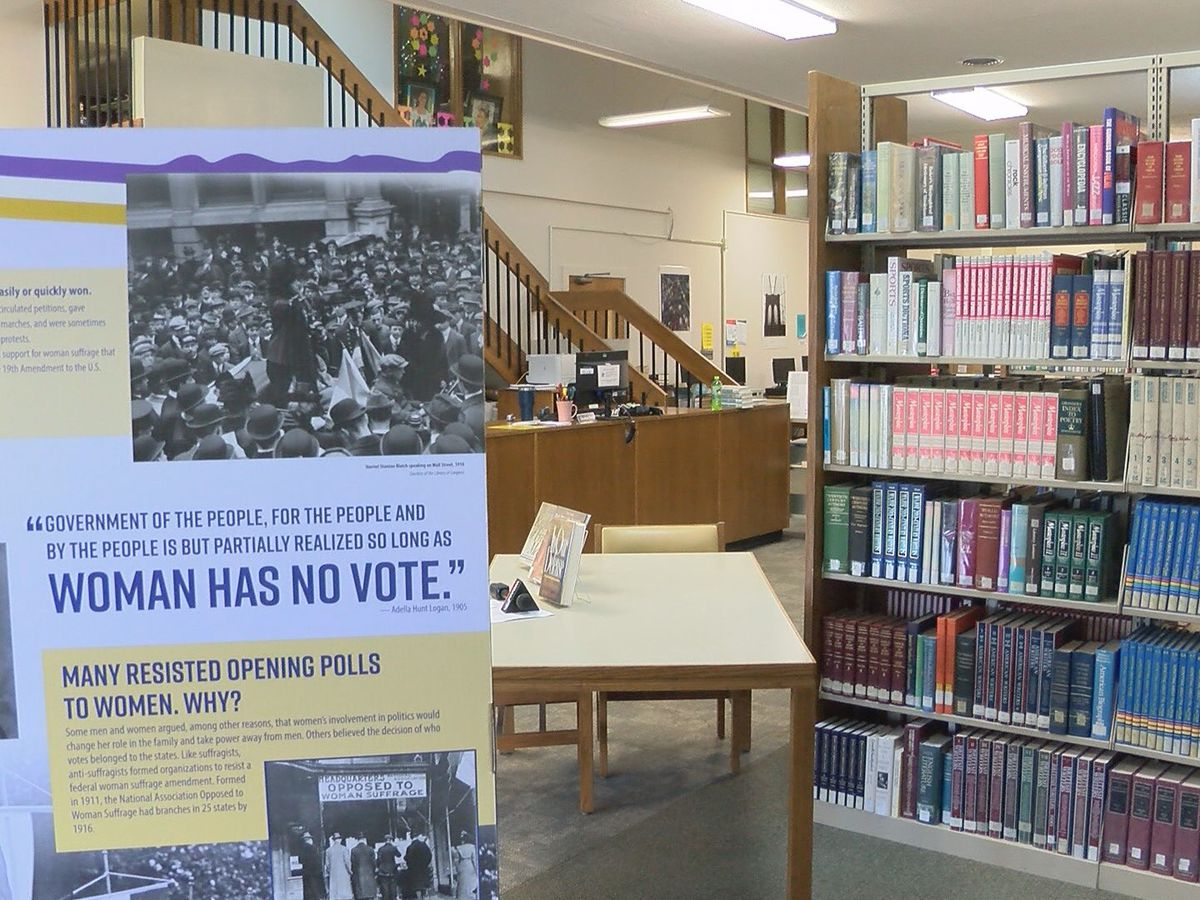 Richton library celebrates 100 years of voting rights for women