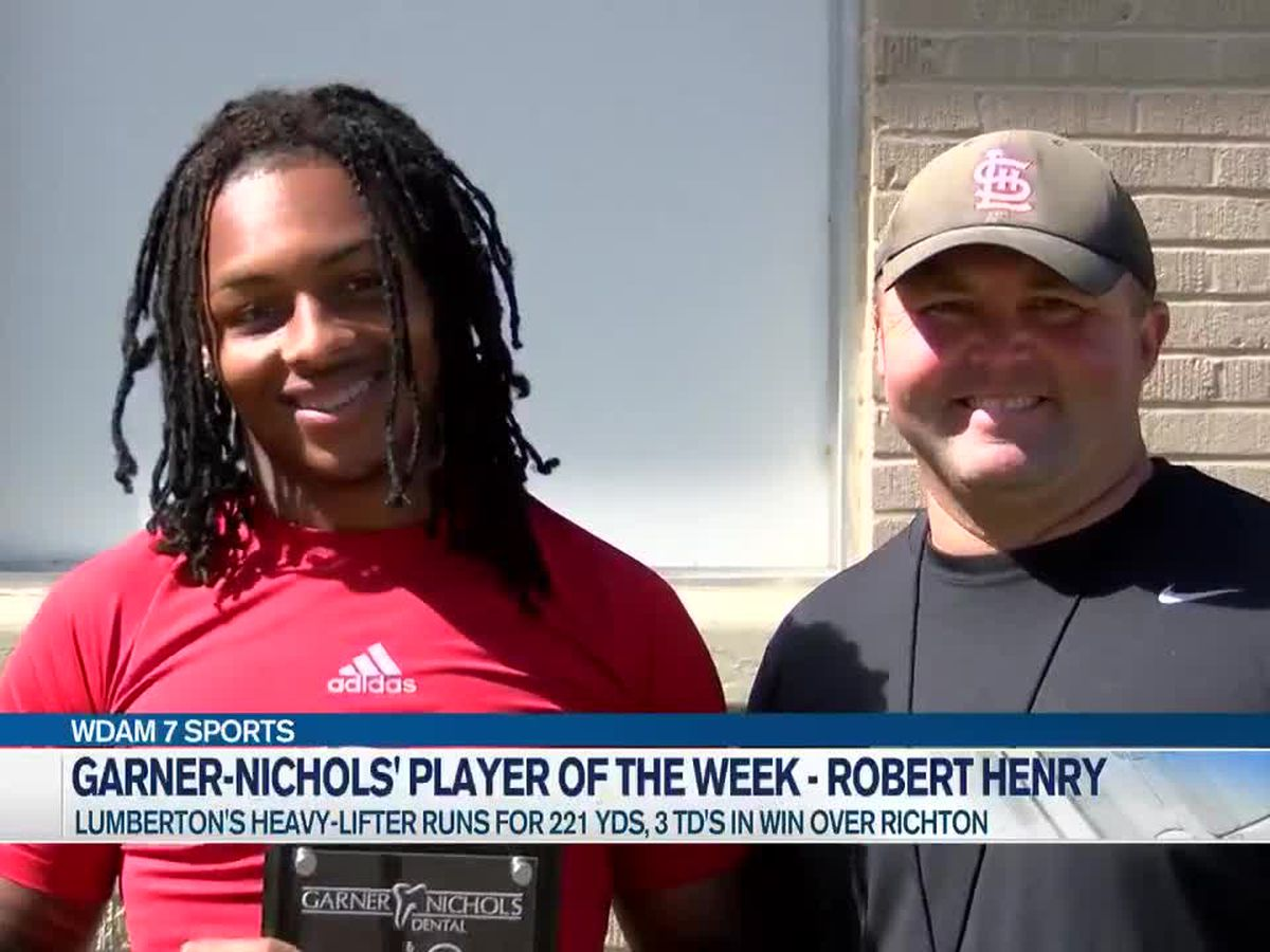 Player of the Week - Robert Henry continues to be Lumberton's heavy-lifter