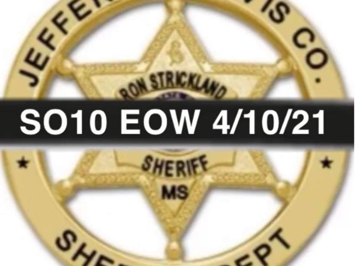 Jefferson Davis County deputy dies in vehicle accident