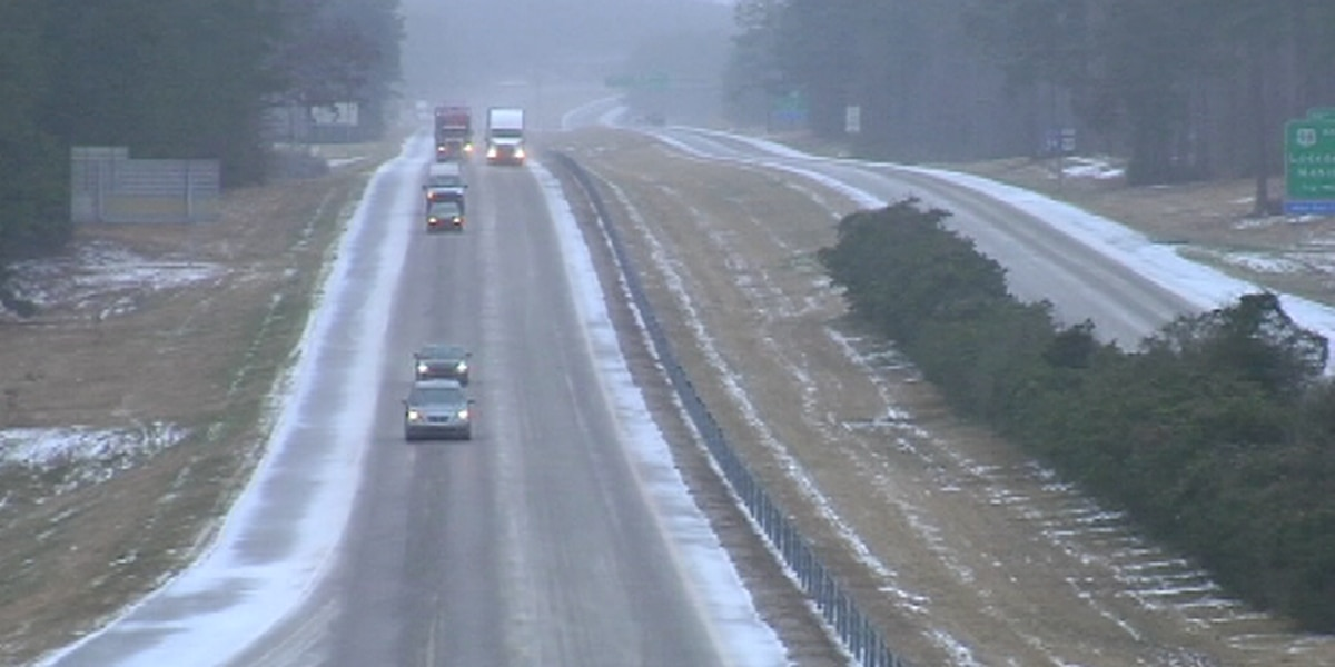 Authorities urge caution for drivers during winter weather