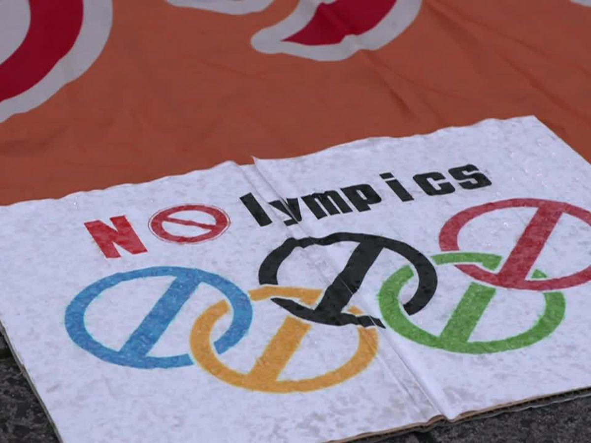 Anti-Olympics protest in Tokyo as COVID-19 outbreak worsens in Japan