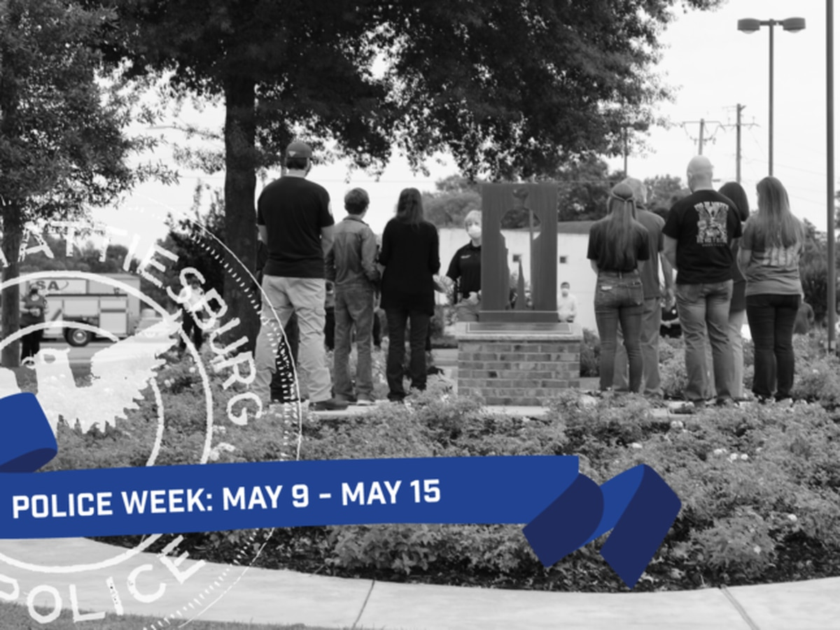 Hattiesburg to pay tribute to fallen officers for Police Week