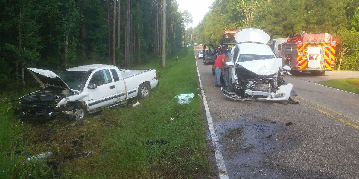 Two injured in head-on collision