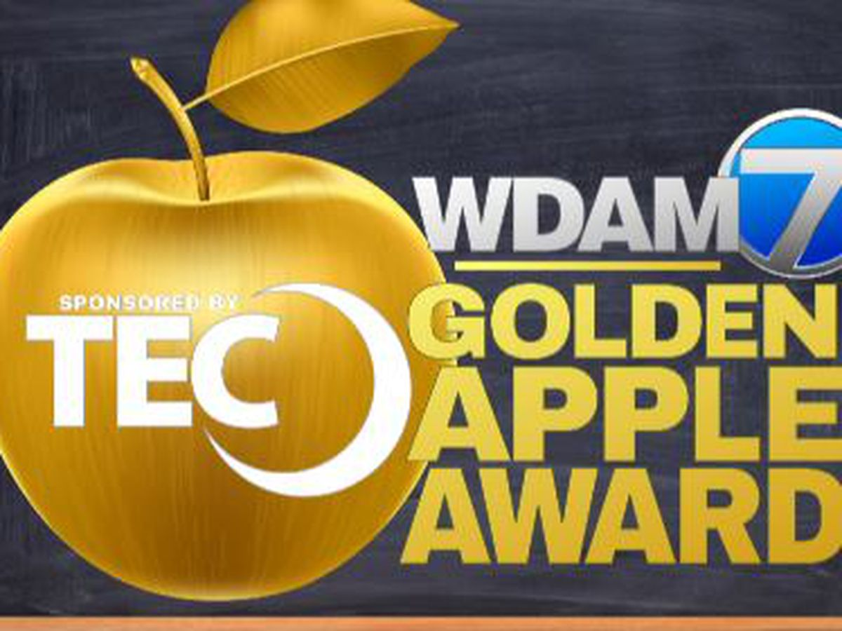 West Jones Elementary music teacher wins TEC, WDAM 7 Golden Apple Award