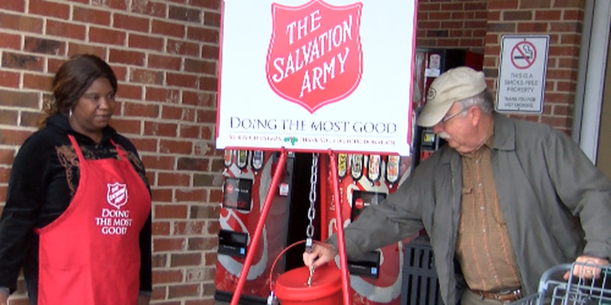 Salvation Army Kettle Bell workers change lives this holiday