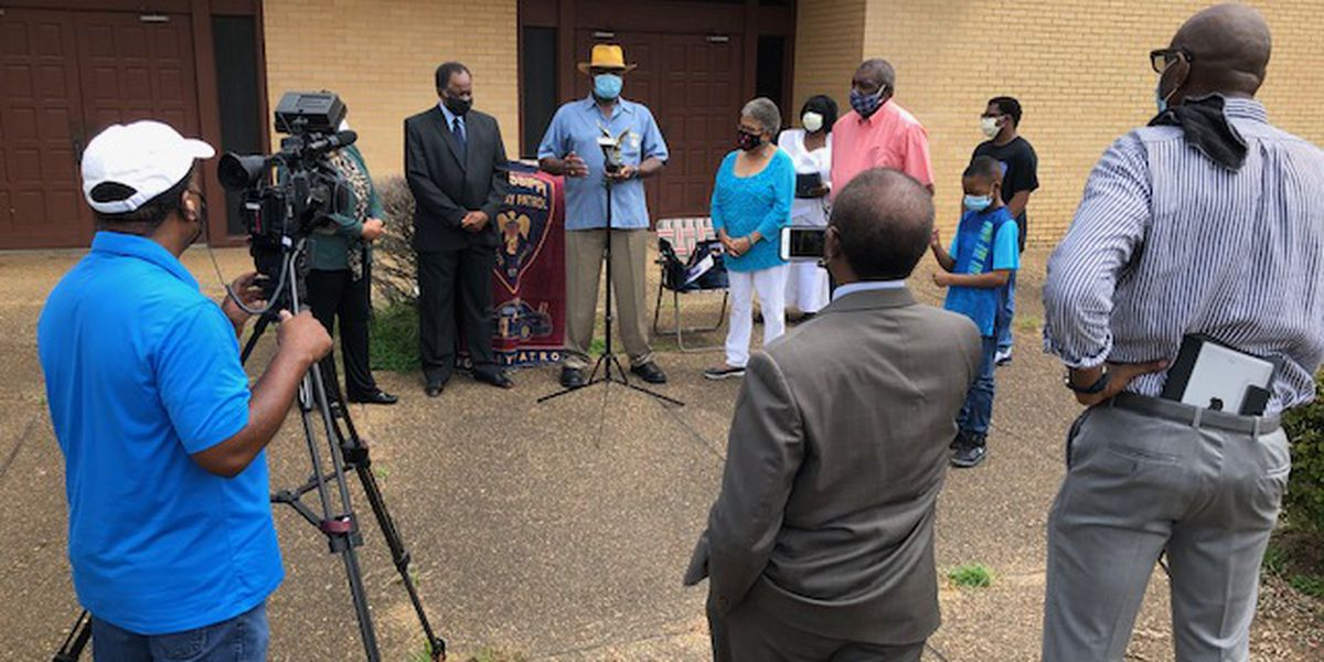 First African-American Mississippi state troopers honor Constance Slaughter-Harvey
