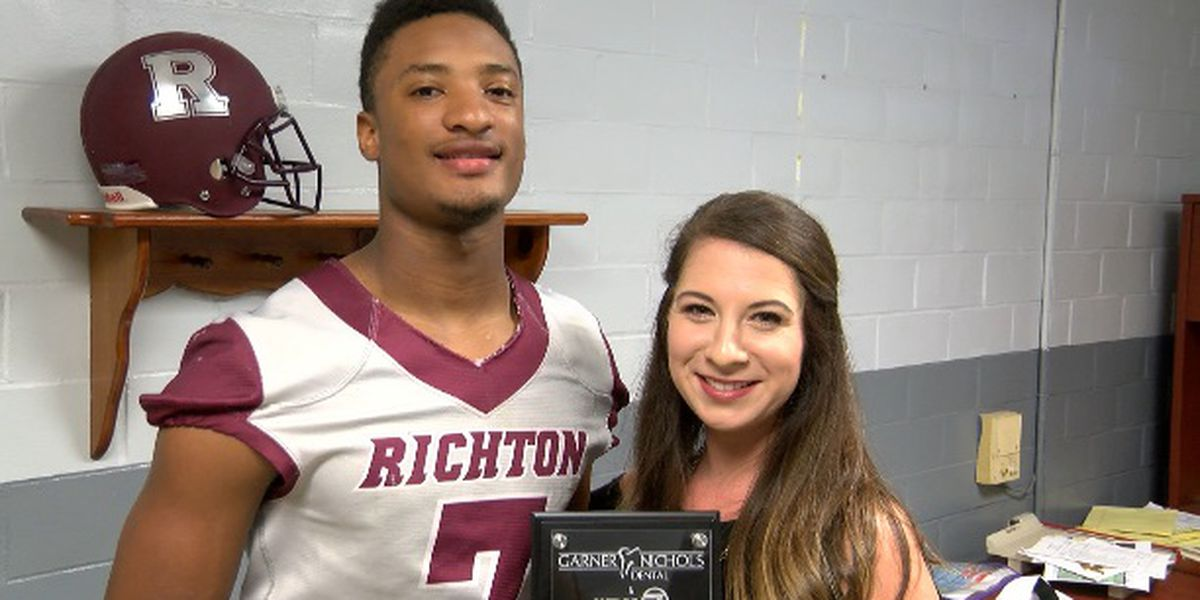 Player of the Week - Richton senior Za'Darius Mitchell