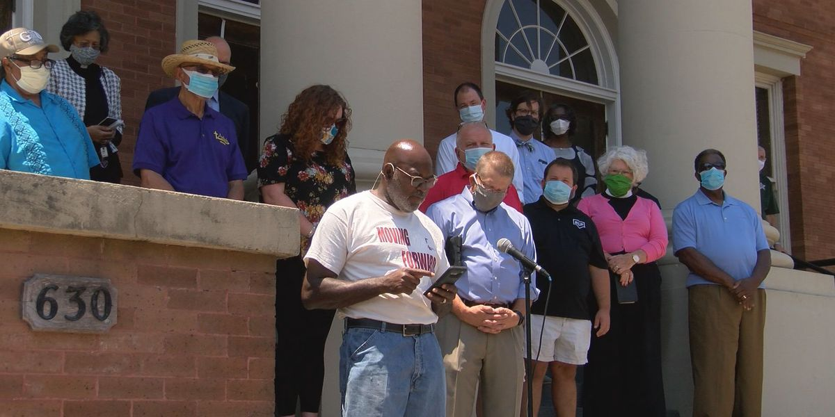 Pine Belt Pastors' Coalition speaks against racial injustice
