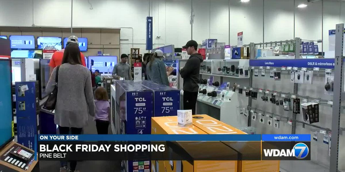 Pine Belt shoppers looking for best deals on Black Friday