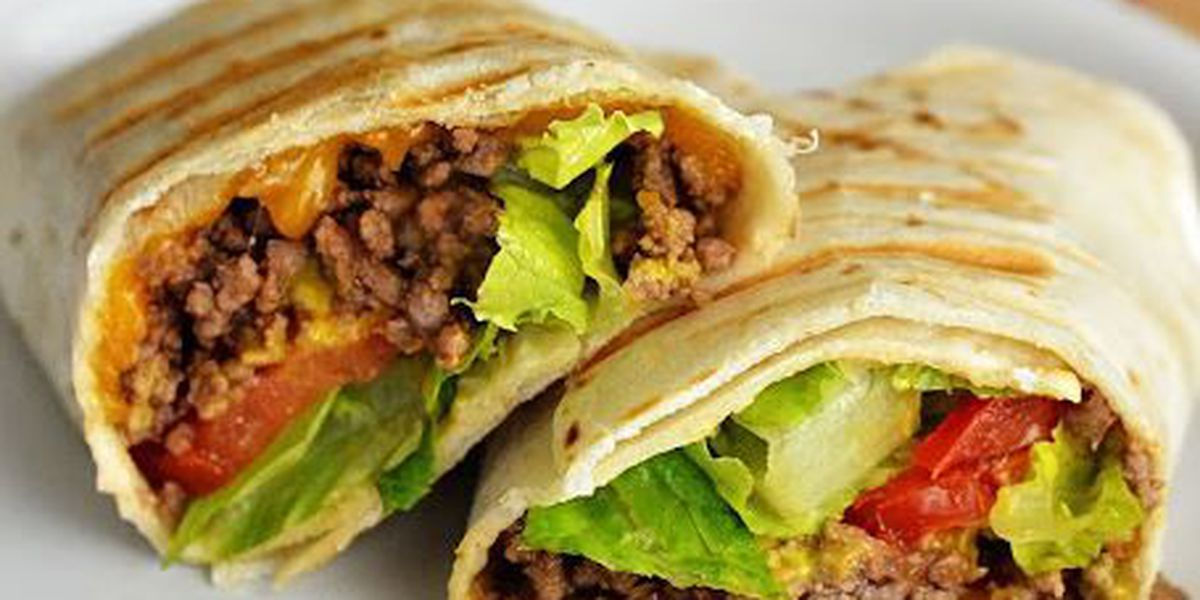 RECIPE: Grilled cheeseburger wraps