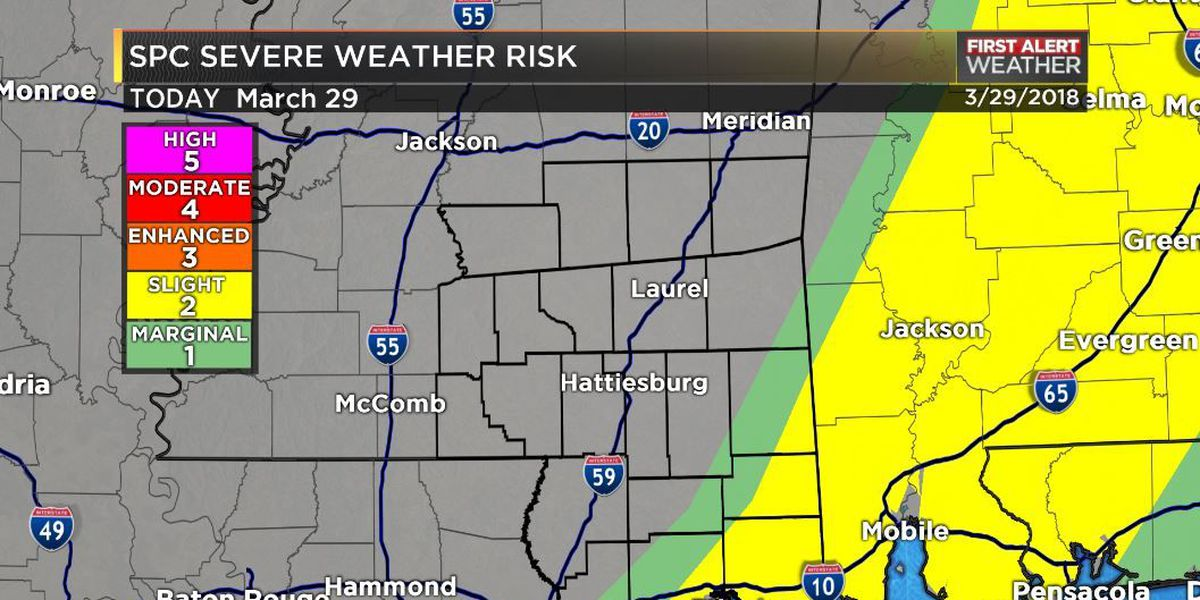 Threat for severe weather has passed