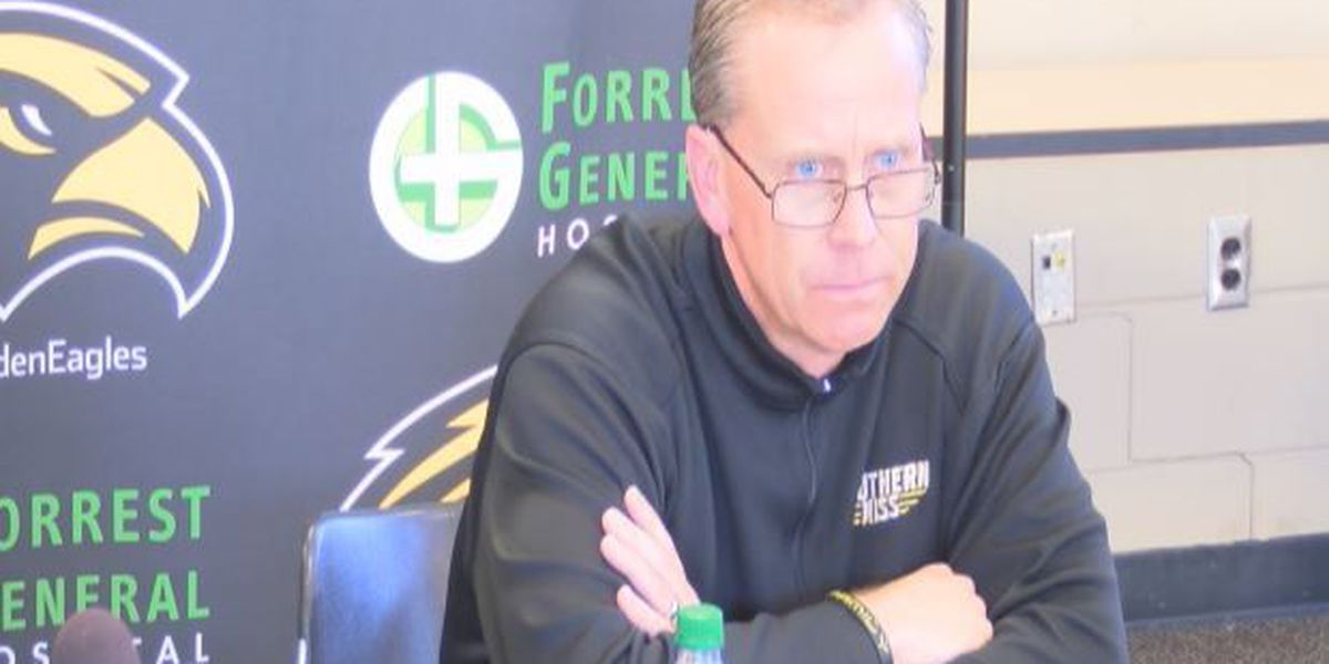 Monken releases emotional statement about leaving Southern Miss