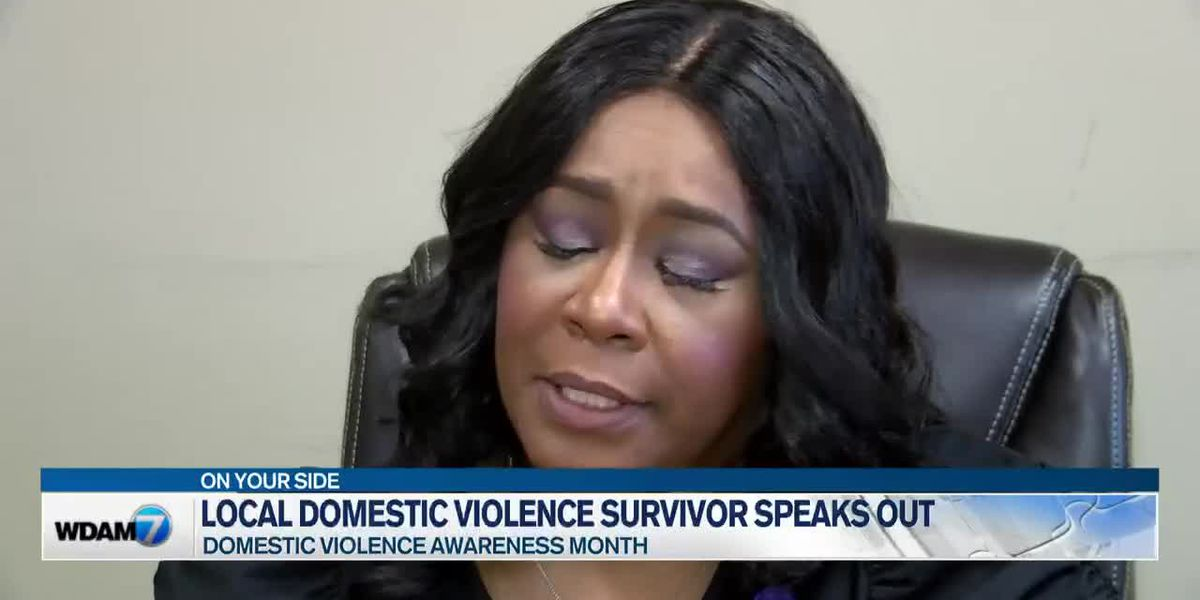 Domestic violence survivor shares story of courage and hope