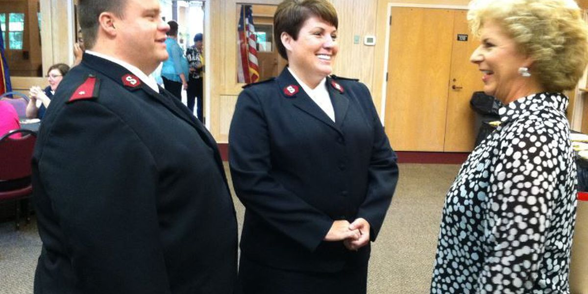 Hattiesburg Salvation Army welcomes new corps officers