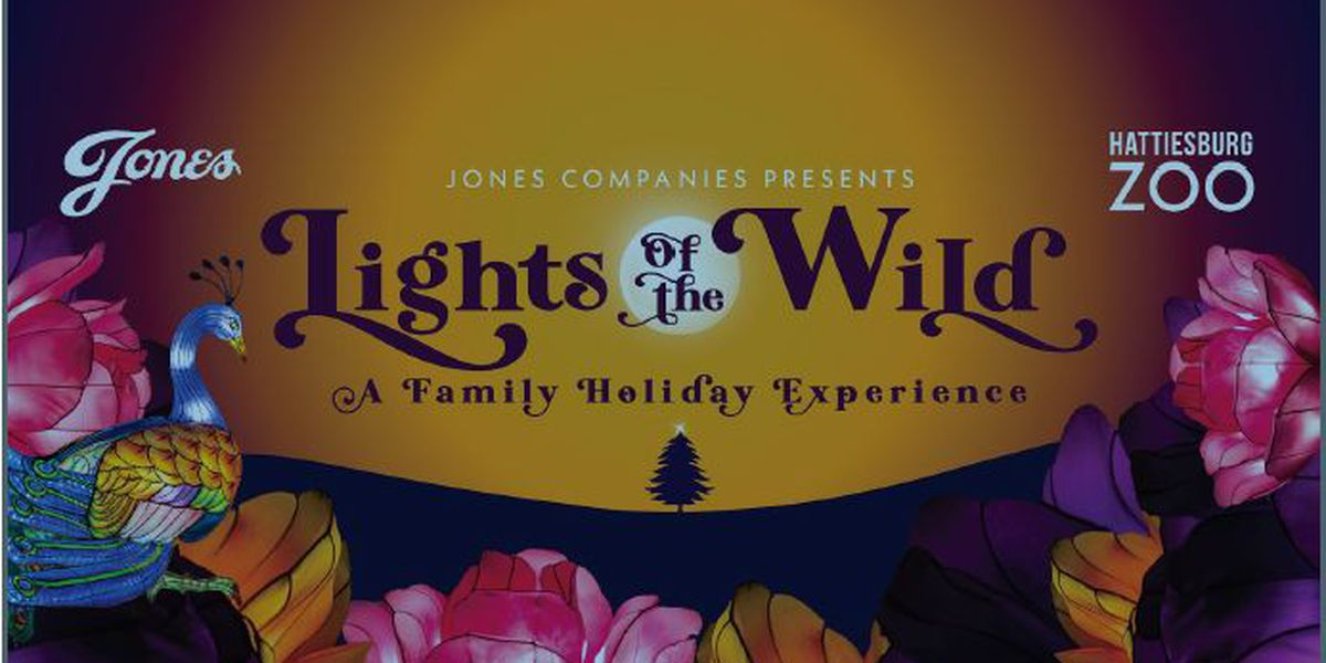 Lights of the Wild set to open at Hattiesburg Zoo