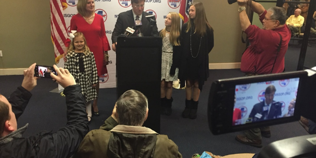 Lt. Governor Tate Reeves announces run for governor