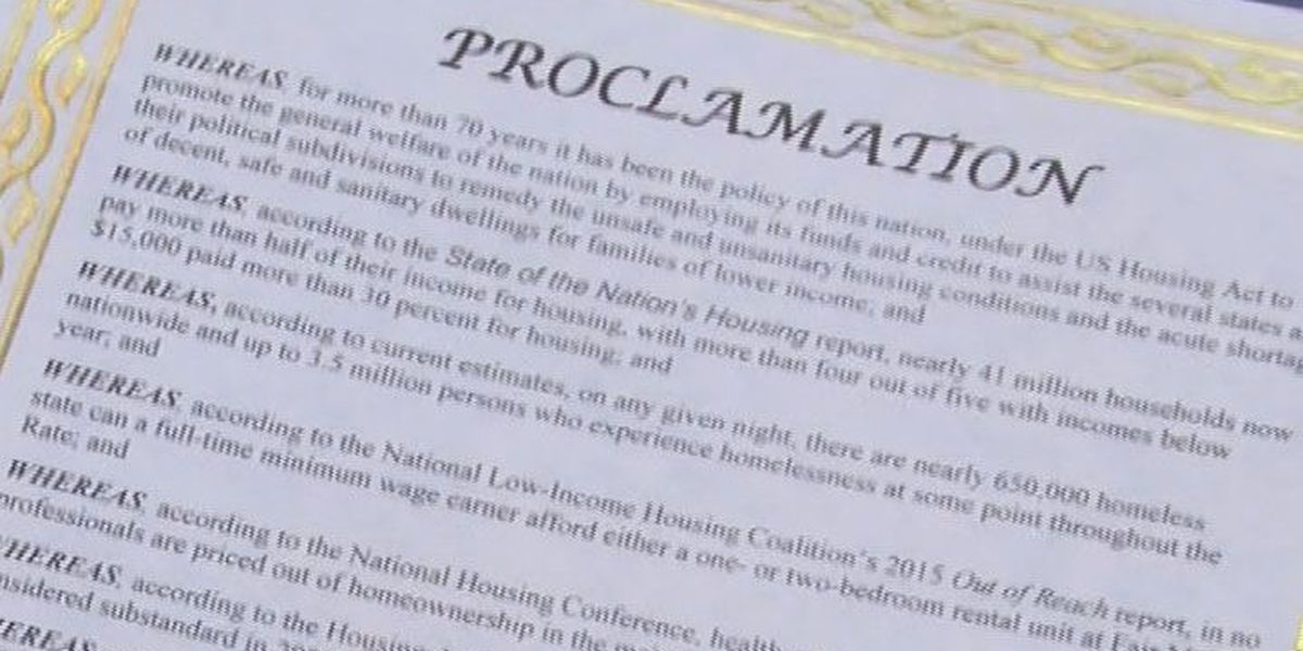 Laurel Housing Authority celebrates Housing America
