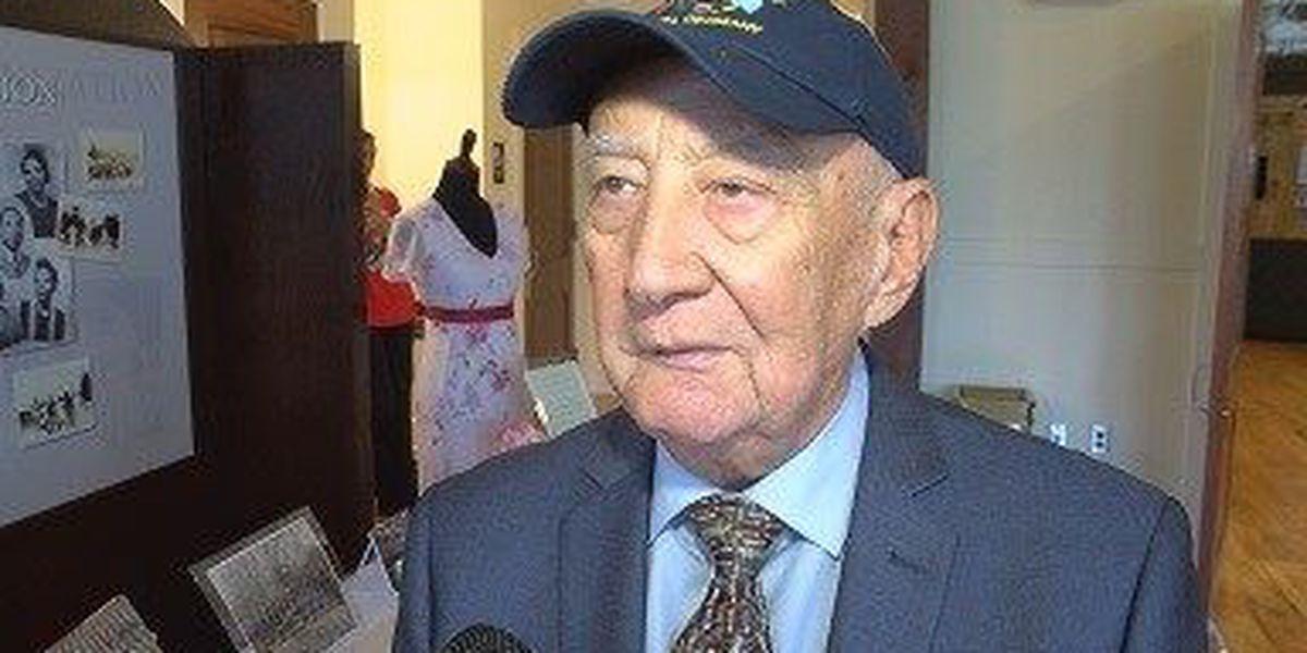 Holocaust survivor attends screening of film at USM on Nazi atrocities