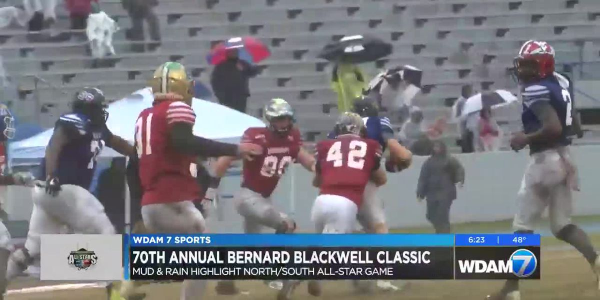 Mud & rain highlight 70th Annual Bernard Blackwell All-Star Game