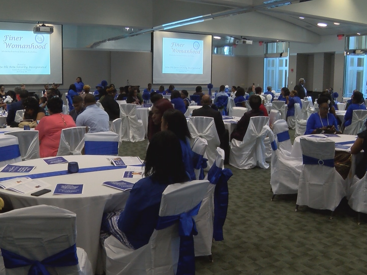 Zeta Phi Beta Sorority hosts scholarship luncheon