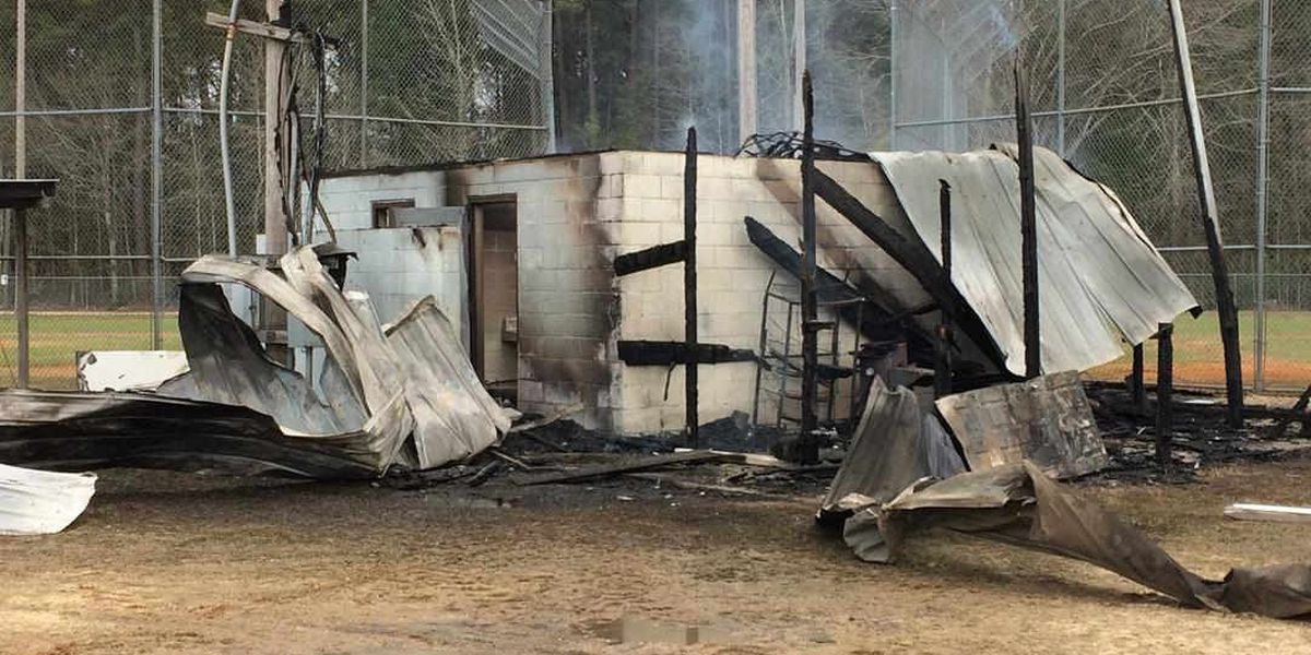 Richton police arrest 3 after fire, vandalism at Dixie Youth Baseball Complex