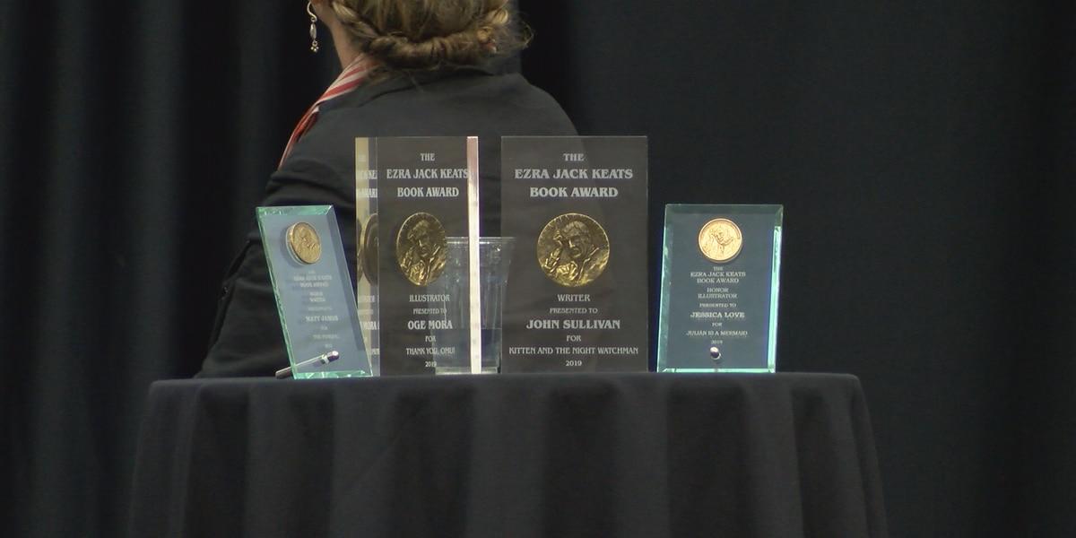 Keats Awards presented during annual Kaigler Children's Book Fest