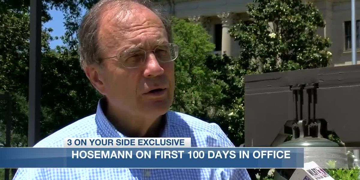 Lt. Gov. Hosemann reflects on historic events of first 100 days in office