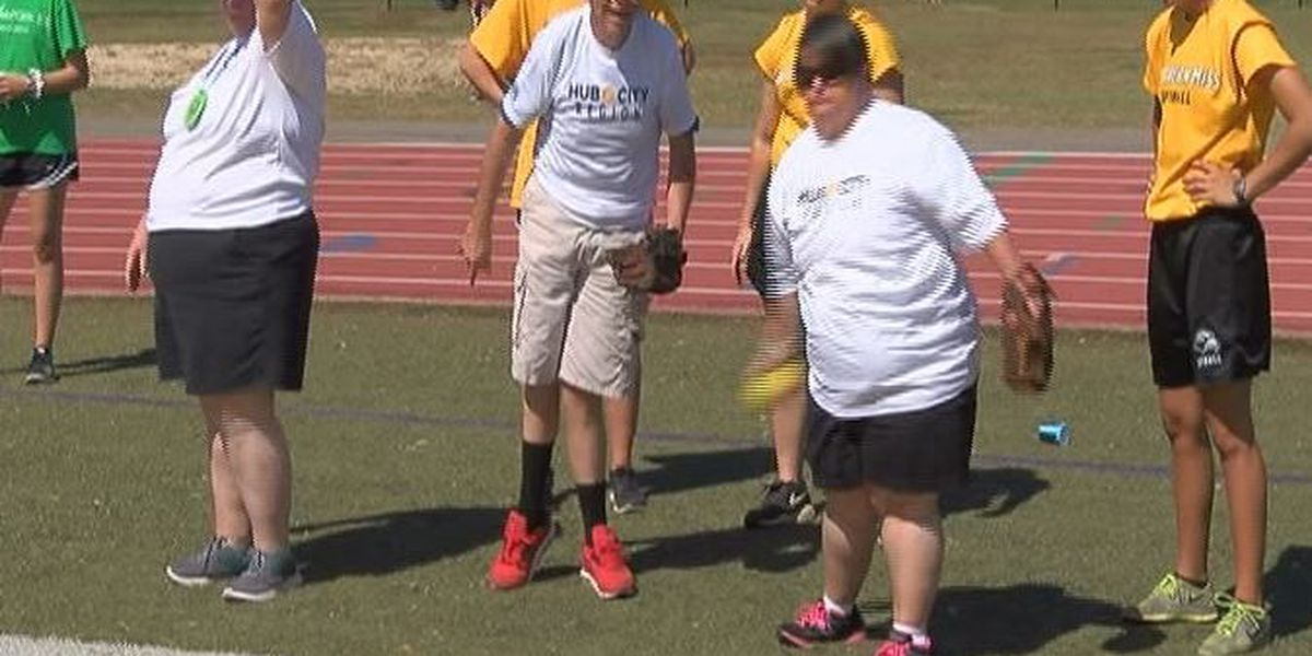 Special Olympics state games held at Camp Shelby