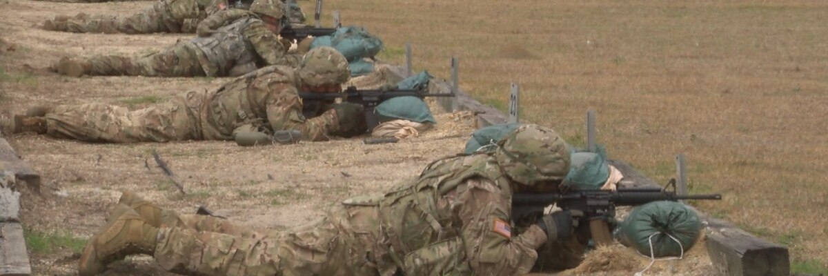 Number of soldiers training at Shelby to increase in the coming weeks