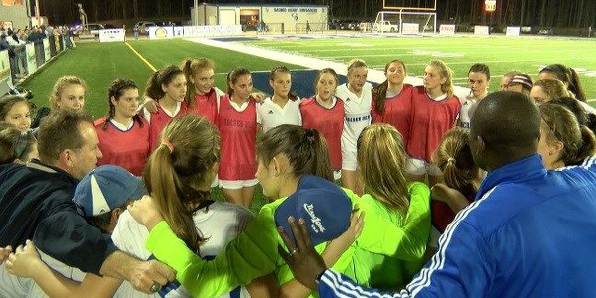 West Jones, Sacred Heart soccer headed to state title