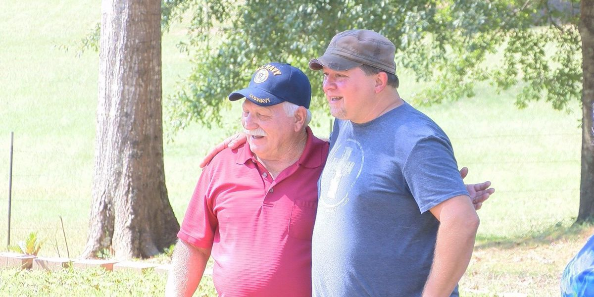 Pine belt man meets son for the first time