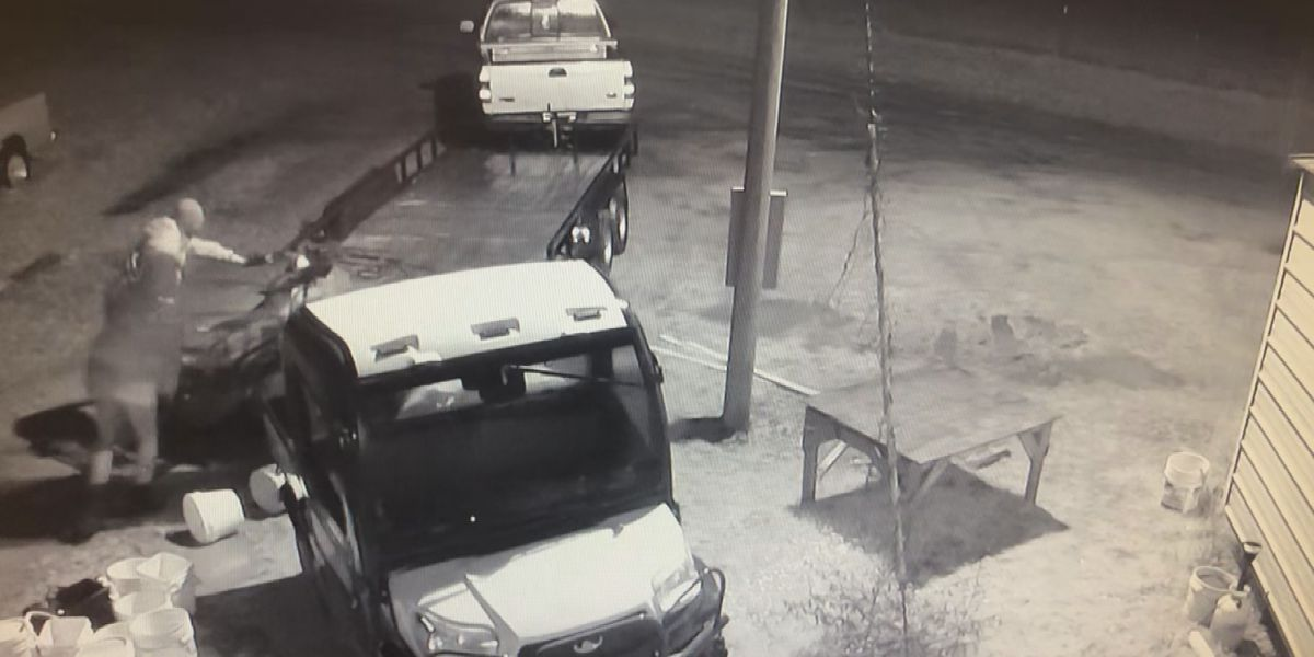 Deputies working to identify couple who stole trailer, ATV
