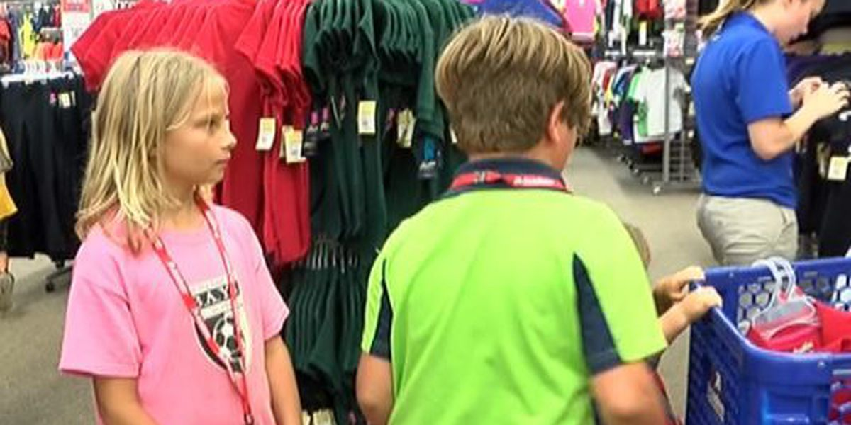 Academy Sports & Outdoors gives 30 local kids a shopping spree