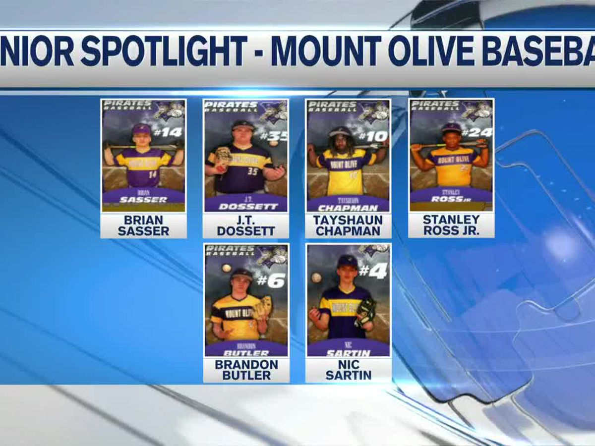 Senior Spotlight - Mount Olive Pirates