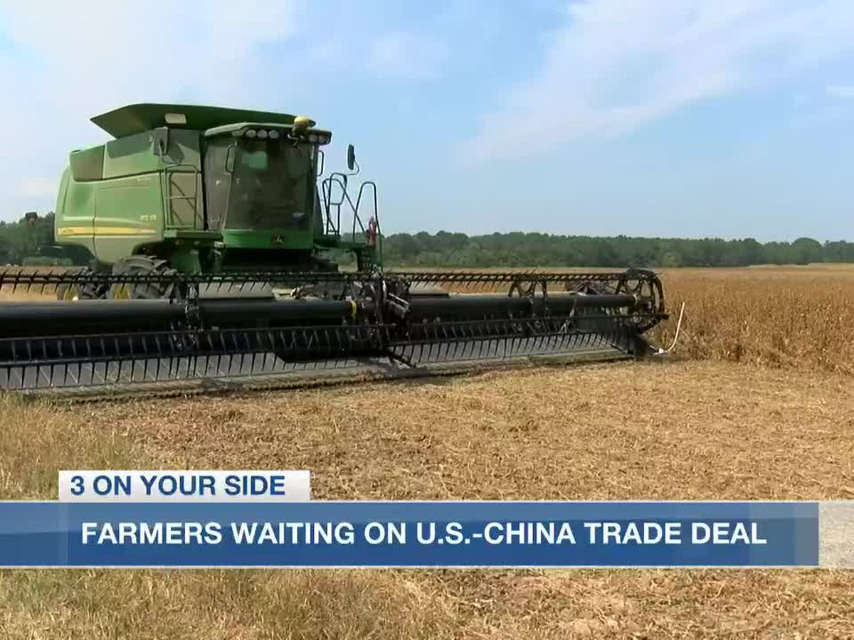 Miss. farmers remain hopeful that a deal will be reached in the US-China trade war