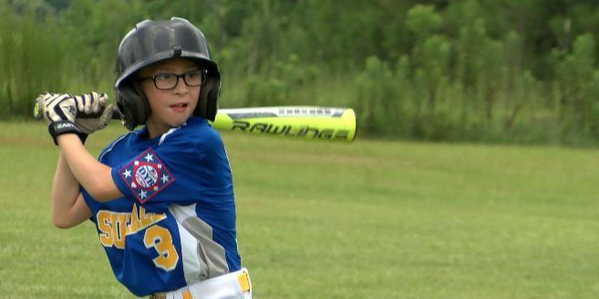 Nine-year-old Sumrall baseball player defies medical odds